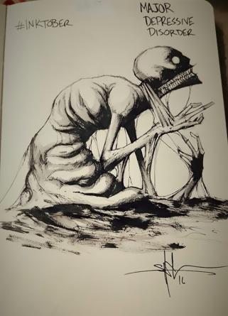 inktober depression